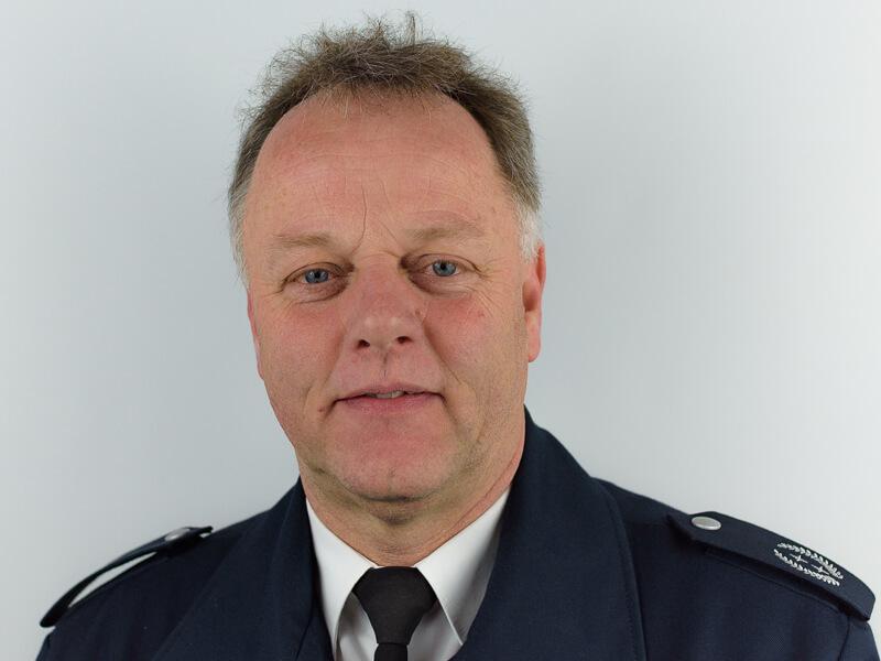 Hartwig Hübner - Leiter der Freiwilligen Feuerwehr Lengerich